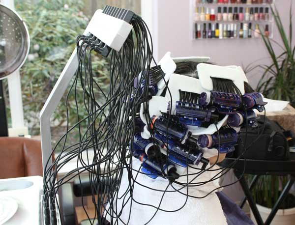 New Look Beauty Salon Digital Perm